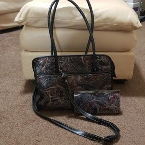 Patricia Nash Bag and Wallet with Original Tags..P